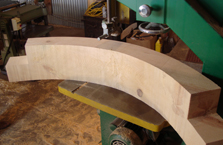 Curved Beam With Lap Cuts