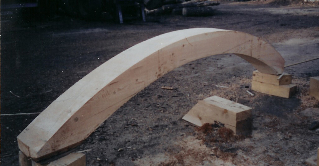 Spotted owl timber inc ¦ curved beams corbels